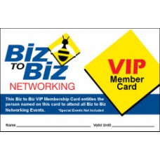 Biz To Biz Annual VIP Membership